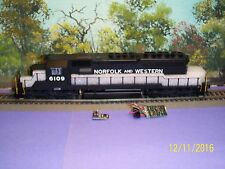 BROADWAY LIMITED IMPORTS BLUELINE #5276 EMD SD40-2 N&W #6109