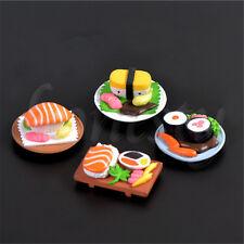 2x Plastic Sushi Miniature Dollhouse Gardening Micro Landscape Bonsai Decor 1:12