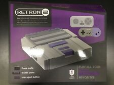 HYPERKIN SNES/ NES RetroN 2 Gaming Console (Gray) M05932-GR