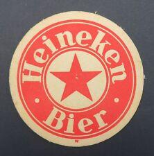 Ancien sous-bock bière HEINEKEN BIER coaster Bierdeckel 10