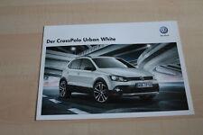 99538) VW Cross Polo Urban White Prospekt 04/2012
