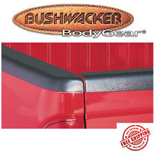 Bushwacker Black Smooth BedRail Cap For 1988-1998 GMC Sierra Long Bed W/O Holes