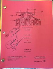 "HOME IMPROVEMENT show script ""Borland Ambition"" Autographed by Richard Karn"
