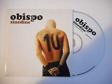 PASCAL OBISPO : ZINEDINE [ CD SINGLE PROMO - PORT GRATUIT ]