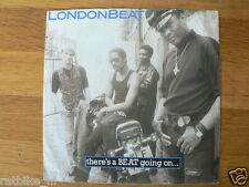 EP MOTORCYCLE COVER LONDONBEAT THERE'S A BEAT GOING ON SINGLE 7 INCH 1988