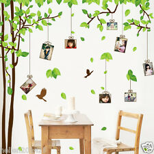 Big Wall Sticker 300*180cm DIY PVC Forever Memory Tree Frame Family Photo Decal