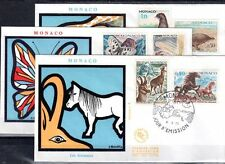 MONACO FDC - 809 814 1 - PROTECTION DES ANIMAUX - 4 Mai 1970 - LUXE