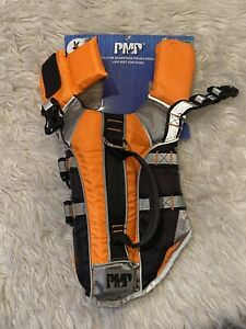 Silver Paw PMP Small Dog Safety Life Jacket XS Reflective w/Handle & Clip