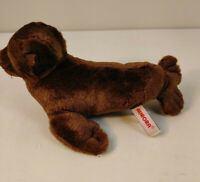 "Aurora Destination Nation Plush Brown Seal Soft 10"" Stuffed Animal"