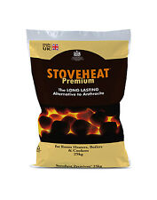 STOVEHEAT SMOKELESS COAL - 5 x 25KG BAGS (125KG) - BUY DIRECT FROM MANUFACTURER