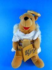 "Winnie the Pooh Christmas Choir Angel 8"" Bean Bag Plush Disney 2000 Exc"