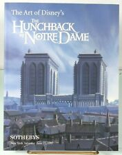 SOTHEBY'S HUNCHBACK OF NOTRE DAME /JAMES AND THE GIANT PEACH AUCTION CATALOG '97