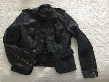 REAL LEATHER Next Ladies Leather Jacket Size 10