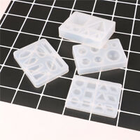 silicone pendant mold making jewelry pendant resin casting mould diy tool_ti