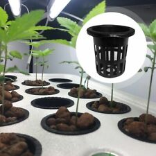 Soilless Pot Net Bucket Basket Water Cultivation Hydroponic Garden Plant Label