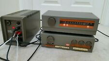 Quad 33 Preamp Control Unit and Quad 303 Power Amplifier . Fm 3 tuner