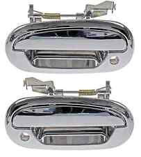 97 - 03 Ford F150 Front Outside Door Handle Chrome Pair Set