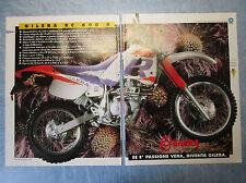 MOTOSPRINT993-PUBBLICITA'/ADVERTISING-1993- GILERA RC 600 R (2 fogli)