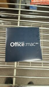 Genuine Microsoft Office Mac Home and Business 2011 (DVD) W/ Product Key