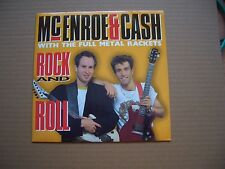 "McENROE & CASH - ROCK AND ROLL - 7"" P/S SINGLE - IRON MAIDEN, ROGER DALTREY"