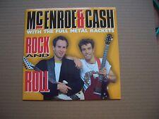 "McENROE & CASH - ROCK AND ROLL - 7"" P/S SINGLE - IRON MAIDEN, ROGER DALTREY"