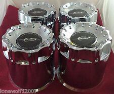 Dale Earnhardt Jr. Chrome Custom Wheel Center Caps Set of 4 # 515000011 8-LUG