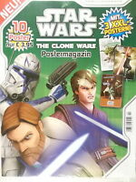★ STAR WARS THE CLONE WARS Postermagazin # 2 mit 10 Poster ( Panini 2014 ) Neu ★