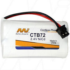 2.4V Replacement Battery Compatible with GP GP60AAS2BMX