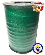 ELECTRIC FENCE TAPE 20mm x 200 Metres Green Poly Fencing Horse Paddock