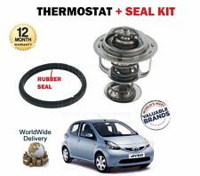 FOR TOYOTA AYGO 1.0 1KR-FE 2005>  NEW THERMOSTAT KIT WITH RUBBER SEAL GASKET