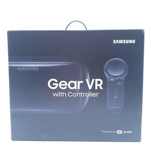 Samsung Gear VR Headset & Controller Galaxy S8 S7 SM-R324 Oculus w/ Box