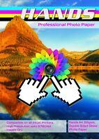 Hands A4 300gsm Double Sided High Gloss Photo Paper (25, 50, 100 Sheets)