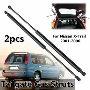 2Pcs Tailgate Trunk Boot Gas Struts Support Spring For Nissan X-Trail 2001-2006