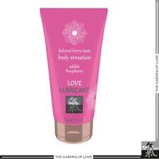 Sex Toys Lubrificante Intimo commestibile Raspberry Love Shiatsu 75 ml Lampone