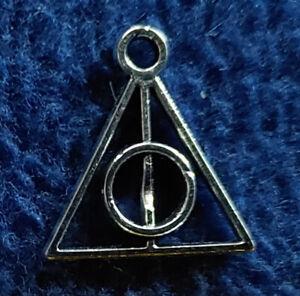 Harry Potter: Heiligtümer des Todes - kl. Anhänger für Schmuck / Kette -silber