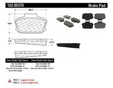 C-TEK Metallic Brake Pads-Preferred fits 1966-1974 Nissan 510 411 610  C-TEK BY