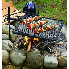 Adjust-A-Grill 13570 Portable Cooking Adjustable Swivel Rack Campfire Grill New