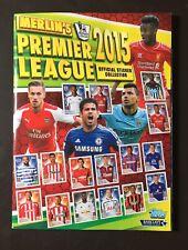 24 Hour Sale Merlin Topps Premier League 2015 Complete Excellent Condition Rare