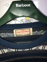 "Mens Pierre Sangan Jumper 48"" Vintage Rare 80s 90s New Wool"