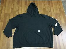 MENS 4XL - Carhartt K288 Midweight Logo Sleeve Hooded Sweatshirt Black