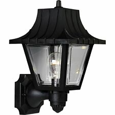 Progress Lighting P5814-31 Wall Lantern with Ribbed Mansard Roof Beveled Panels
