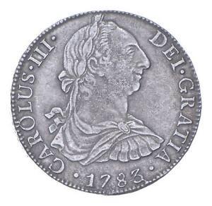 Pirate Treasure 1783 Spanish Colonial 8 Reales *739