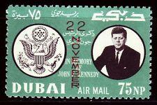 Dubai 1964 ** mi.144 a John F Kennedy JFK ovpt.