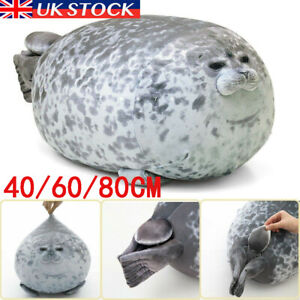 Kids Chubby Blob Seal Plush Toy Animal Cute Ocean Pillow Pet Stuffed Doll Gift