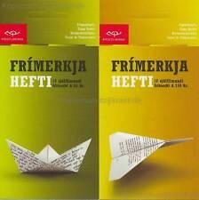 EUROPA CEPT 2008 DER BRIEF - ISLAND 1207-08 MARKENHEFT MH BOOKLET**