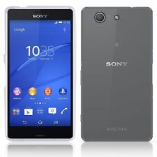 NEW CLEAR TPU HYDRO GEL CASE COVER SKIN + FILM FOR SONY XPERIA Z3 COMPACT 2014