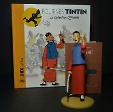"LARGE 5"" TINTIN FIGURINE ""OFFICIAL COLLECTION"" #M66 DIDI EST FOU"