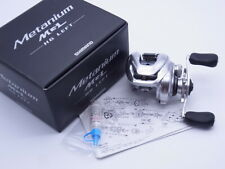 16 Shimano Metanium MGL HG Left Handle 7.4:1 Gear Baitcasting Reel VG+ W/Box