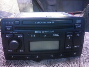FORD MONDEO MK3 6006 CD PLAYER WITH CODE