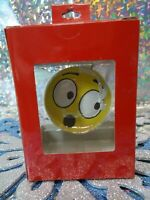 Christmas Hallmark double sided emojie ornament